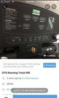 OTO Running Track mill