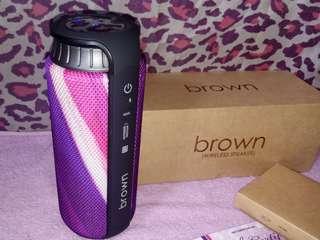 Brown & Proud Wireless Speaker