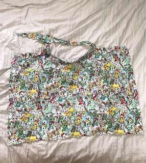 Bebe Au Lait Original Nursing Cover - Premium Cotton - Tokidoki Unikiki