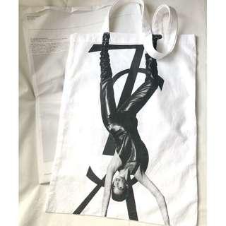 【不議價】YSL Yves Saint Laurent Manifesto 2009 F/W off-white tote bag