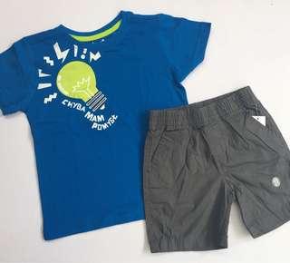 Shirts + short set for boys