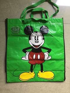 Free Mickey toy bag if you bundle of stuff toys
