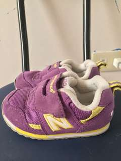 💯 Legit New Balance for Kids in Purple and Yellow