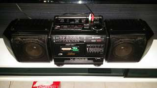 SHARP Stereo System WF-T379