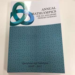 Annual Mathlympics 10 years series (2008 to 2017) Past Years papers.
