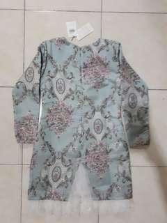 Baju kurung Moden Safeura by LEEYANARAHMAN
