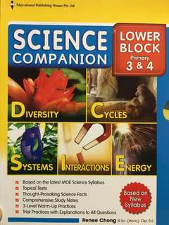 Science Assessment Book (P3 & P4)