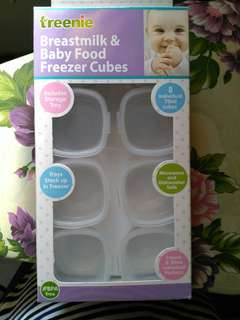 Baby Food Freezer Cubes