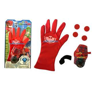 PJ MASKS OWLETTE STRIKER GLOVES COSTUME