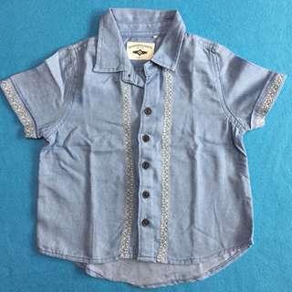 Gingersnaps Button Down Polo Shirt