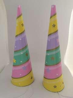 🚚 Unicorn design party hat