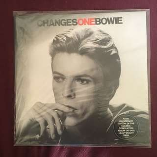 Lp Record : Changes One Bowie Vinyl