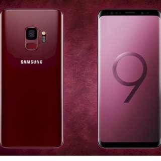 Samsung S9+ 128GB Burgundy Red + 29% Samsung Voucher