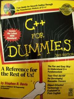 C++ for Dummies 3rd Edition