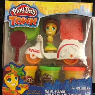 NEW Play-doh Town Pizza Delivery