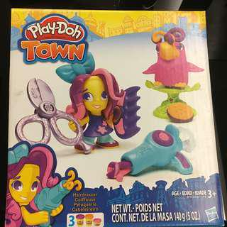 NEW Play-doh town Hairdresser