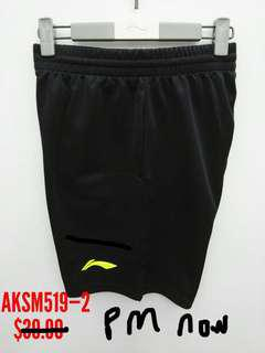 Lining Li-ning sports shorts clothing badminton tennis squash