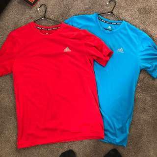 Adidas Training shirts