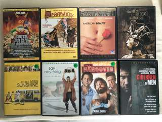 🚚 DVDs
