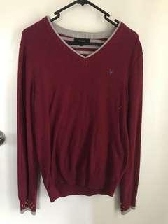 knitwear maroon