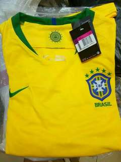 JERSEY BIG SIZE XXXL 3XL BRAZIL HOME WORLD CUP 2018 GRADE ORI
