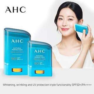 [A.H.C] Natural Perfection Fresh Sun Stick - 22g/14g (SPF50+PA++++)