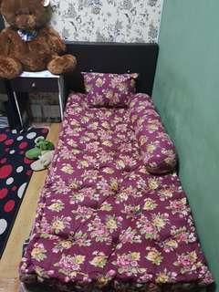 Tilam single free bolster&pillow