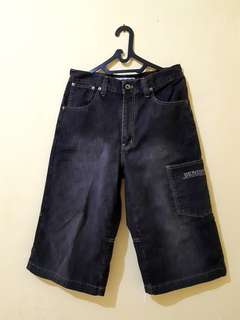 Celana Jeans Pria 3/4 NUMBER 61