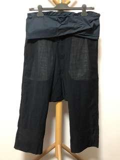 Rick Owens drop rise pants 低浪褲