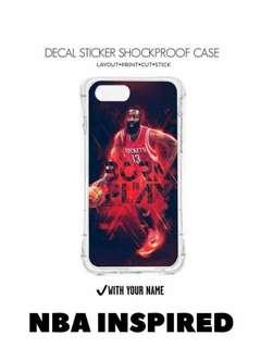 NBA DESIGN SHOCKPROOF DECAL CASE