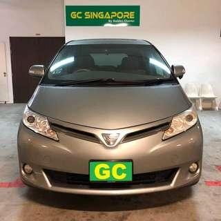 Toyota Estima RENT CHEAPEST RENTAL FOR GRAB/RYDEX