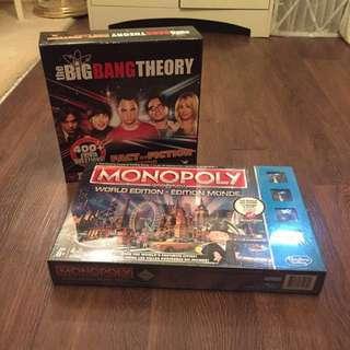Board Games - Monopoly & The Big Bang Theory