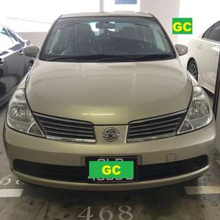 Nissan Latio RENT CHEAPEST RENTAL FOR GRAB/RYDEX