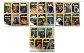 National Geographic for kids (level 2) 25 books