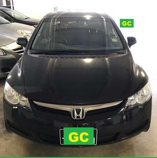 Honda Civic RENT CHEAPEST RENTAL FOR GRAB/RYDEX