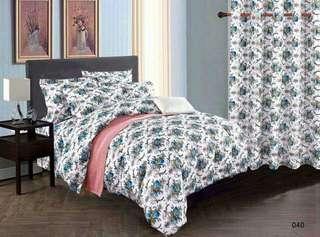 4in1 Bedsheet kumot and 2 pillowcase