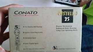Castello 25 fishing reel