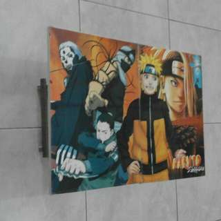 Meja Gambar Lipat Naruto