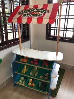Grocery stall for kids