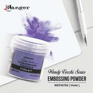 RANGER WENDY VECCHI WEP45762 Embossing Powder 1oz (34ml) - VIOLET