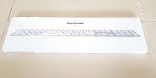 Apple brand Magic Keyboard with numeric keypad