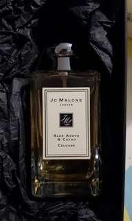 全新 Jo malone 藍龍舌蘭與可可 絕版香水 100ml