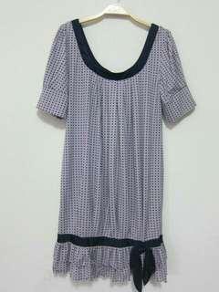 🚚 全新H2O大圓領彈性長版上衣/連身裙
