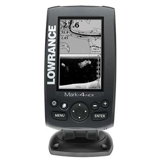 Lowrance Mark-4 HDI GPS Chartplotter Fishfinder 50/200 455/800 fish finder Mount Transducer kayak