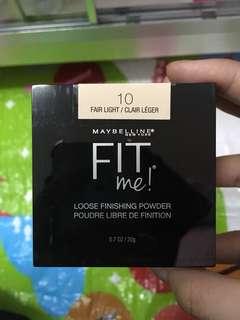 Fit me! Loose finishing powder