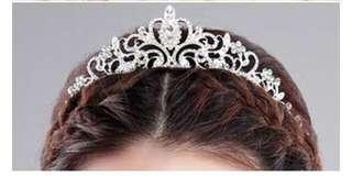 Hair tiara hijab crown mahkota NEW import