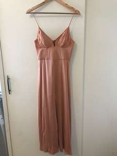 Zimmermann Sueded Bralette Dress
