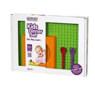 PLACEMATIX KIDS' 4 PC KIDS GIFT UTENSIL SET