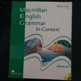 Macmillan English Grammar in Context Advance (without Key) 2008