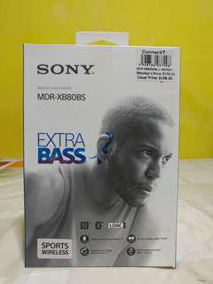 Sony Extra Bass 80 Wireless Earpiece